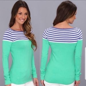 Lilly Pulitzer Maria Boatneck Sweater XS